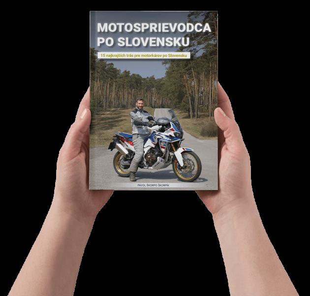 kniha motosprievodca po slovensku